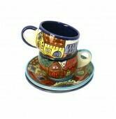 Espresso Tasse - Keramik - 8x6x6 cm