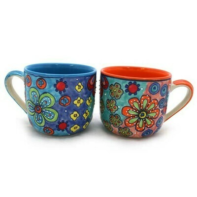 Tasse - Keramik - 9x14x10 cm