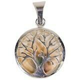 Anhänger Baum des Lebens mit Shivamuschel