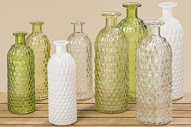 Vase, h 20 cm , sortiert