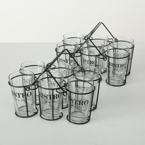 Gläserträger, 7 tlg