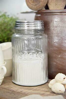 Zucker Glas