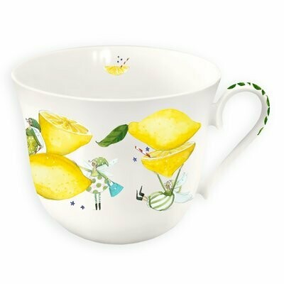 Tasse Zitrone