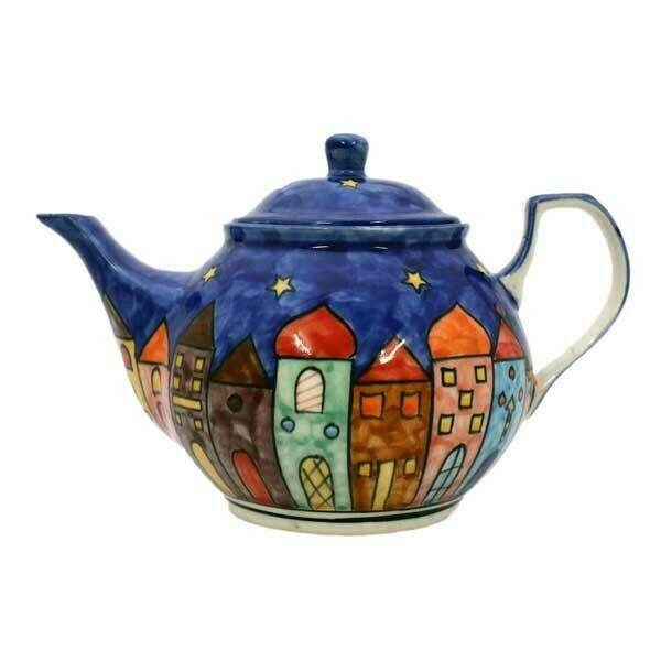 Teekanne, Keramik