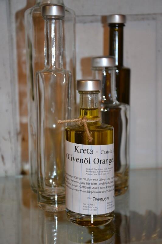 Olivenöl Orange extra - Kreta 100ml