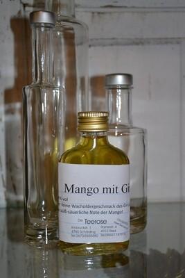 Mango mit Gin