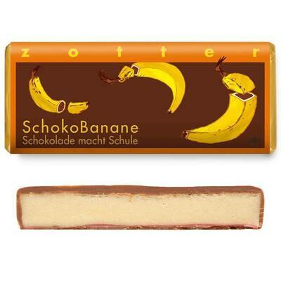 Zotter handgeschöpft - Schoko Banane