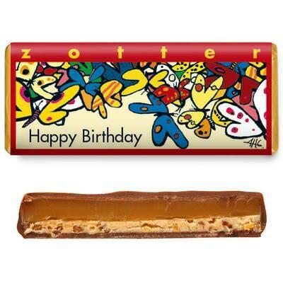 Zotter handgeschöpft - Happy Birthday