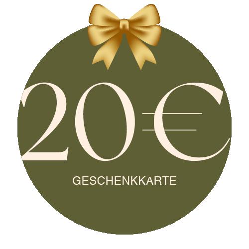 Geschenkkarte Vor Ort 20€