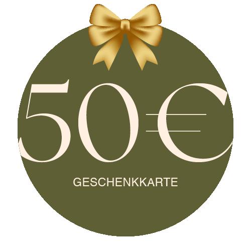 Geschenkkarte Vor Ort 50€