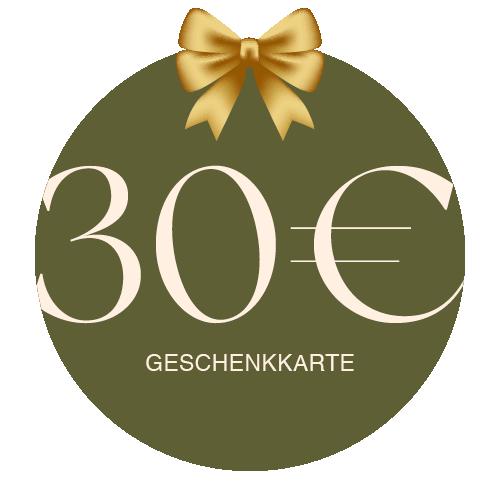Geschenkkarte Vor Ort 30€
