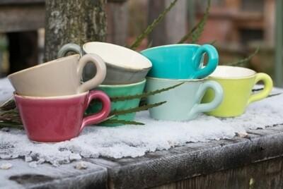 Tasse h 7cm - Italienische Keramik