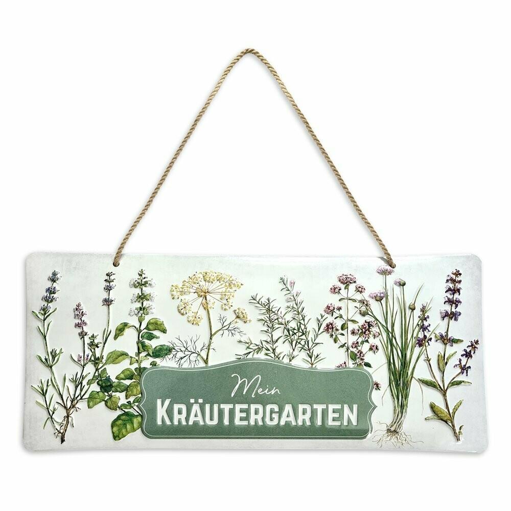 Schild Kräutergarten