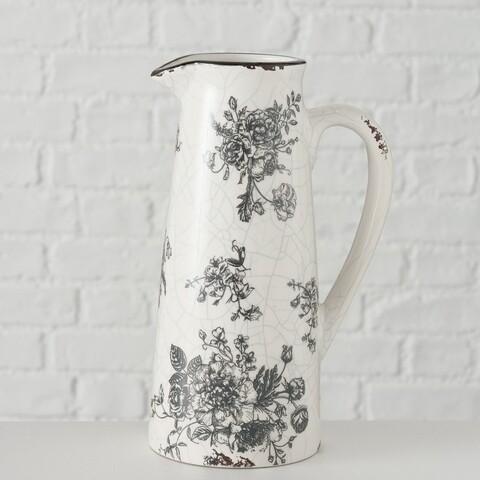Krug, - Vase, 650ml - für Blumen!