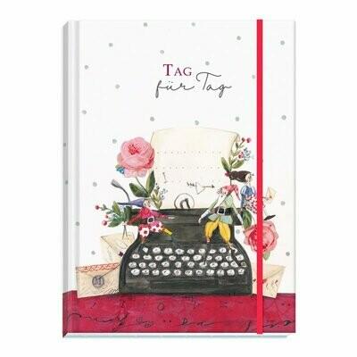 Notitzbuch Tag für Tag