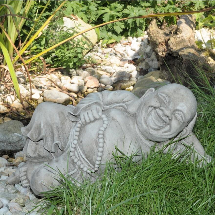 Buddha - Englischer Steinguß