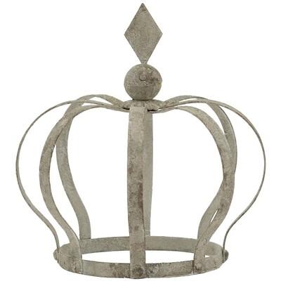 Krone, 13x19x21 cm, Metall