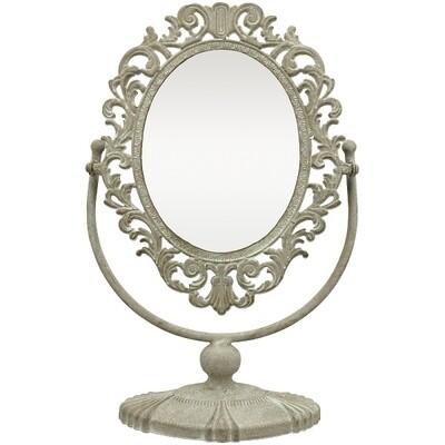 Spiegel, Metall, 30x12x43 cm