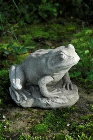 Frosch - Steinguss