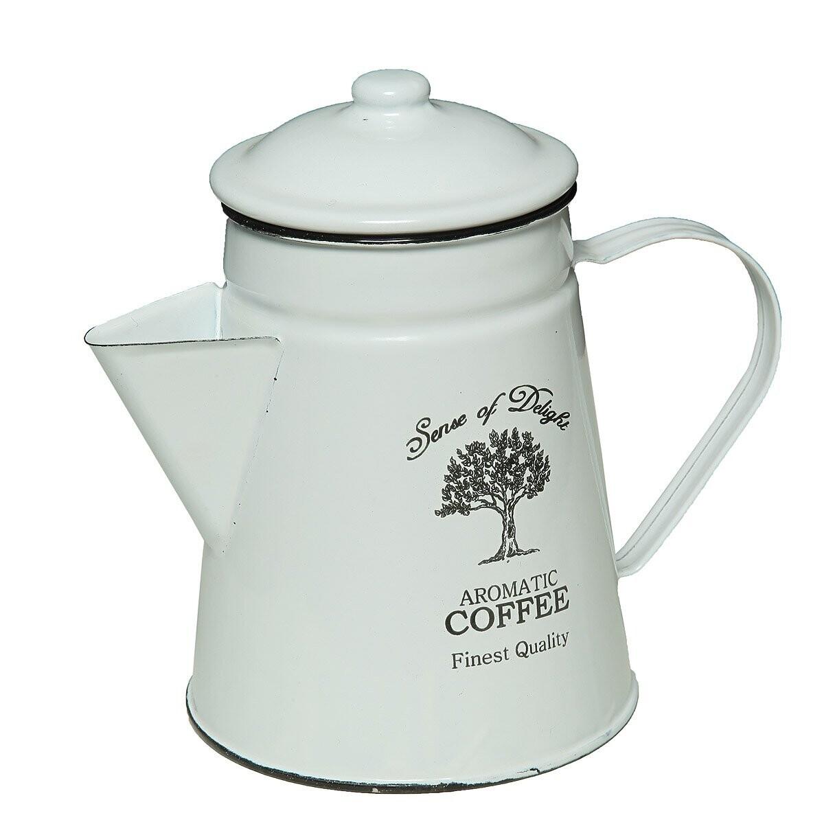 Kaffeekanne Emaille