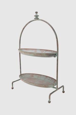 Etagere, Metall - 24x13x39 cm