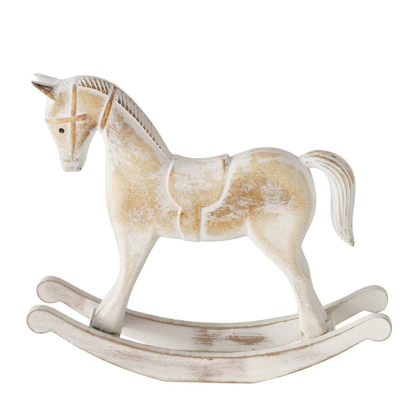Pferd, Holz, l 28 cm