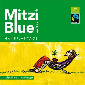Zotter Mitzi Blue - Hanfplatage