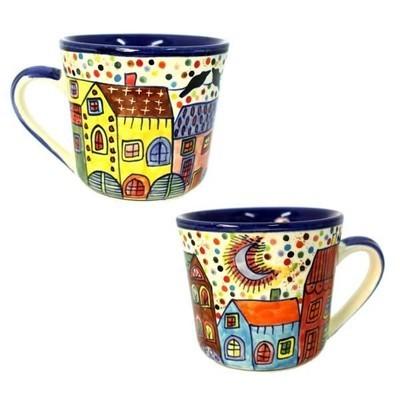 Tasse Village - Keramik - 9x13x10 cm