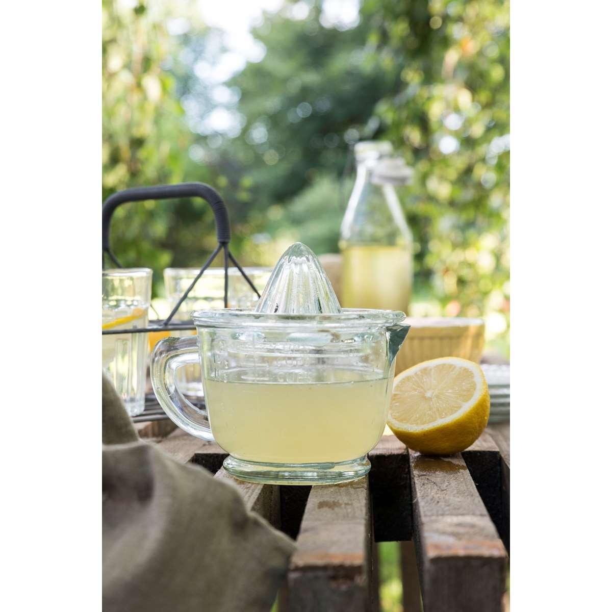 Zitronenpresse, Glas, 16x8x14 cm - Ib Laursen