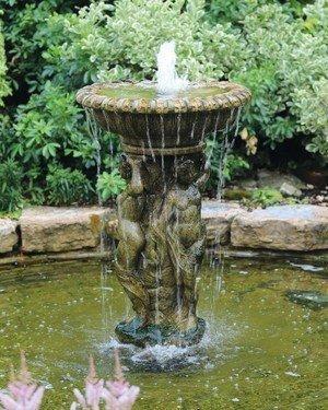 Springbrunnen - Engl. Steinguß 64x113cm- NUR AUF VORBESTELLUNG!