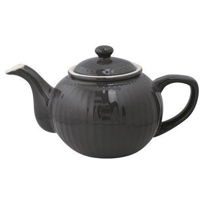 Kanne Alice dark grey h 14 cm - 1 Liter