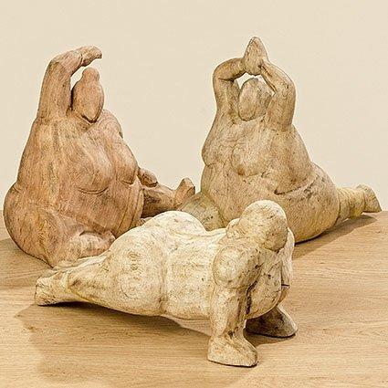 Yoga Frau,  h 20cm