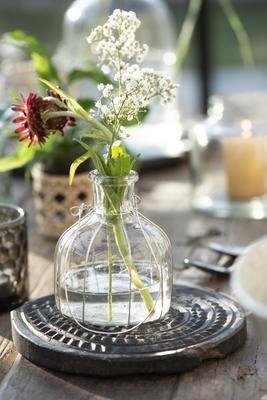 Flasche für Stabkerzen und Blumen