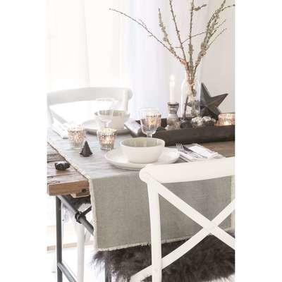 Tischläufer grau - Ib Laursen