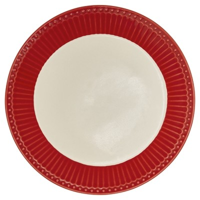 Greengate Teller Alice red d 26,5 cm