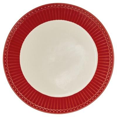 Greengate Teller Alice red d 23,5 cm