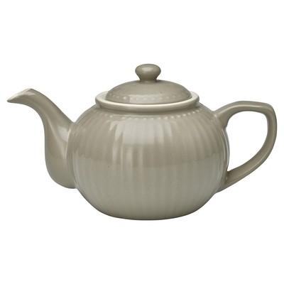 Greengate - Teekanne Alice grau h 14 cm