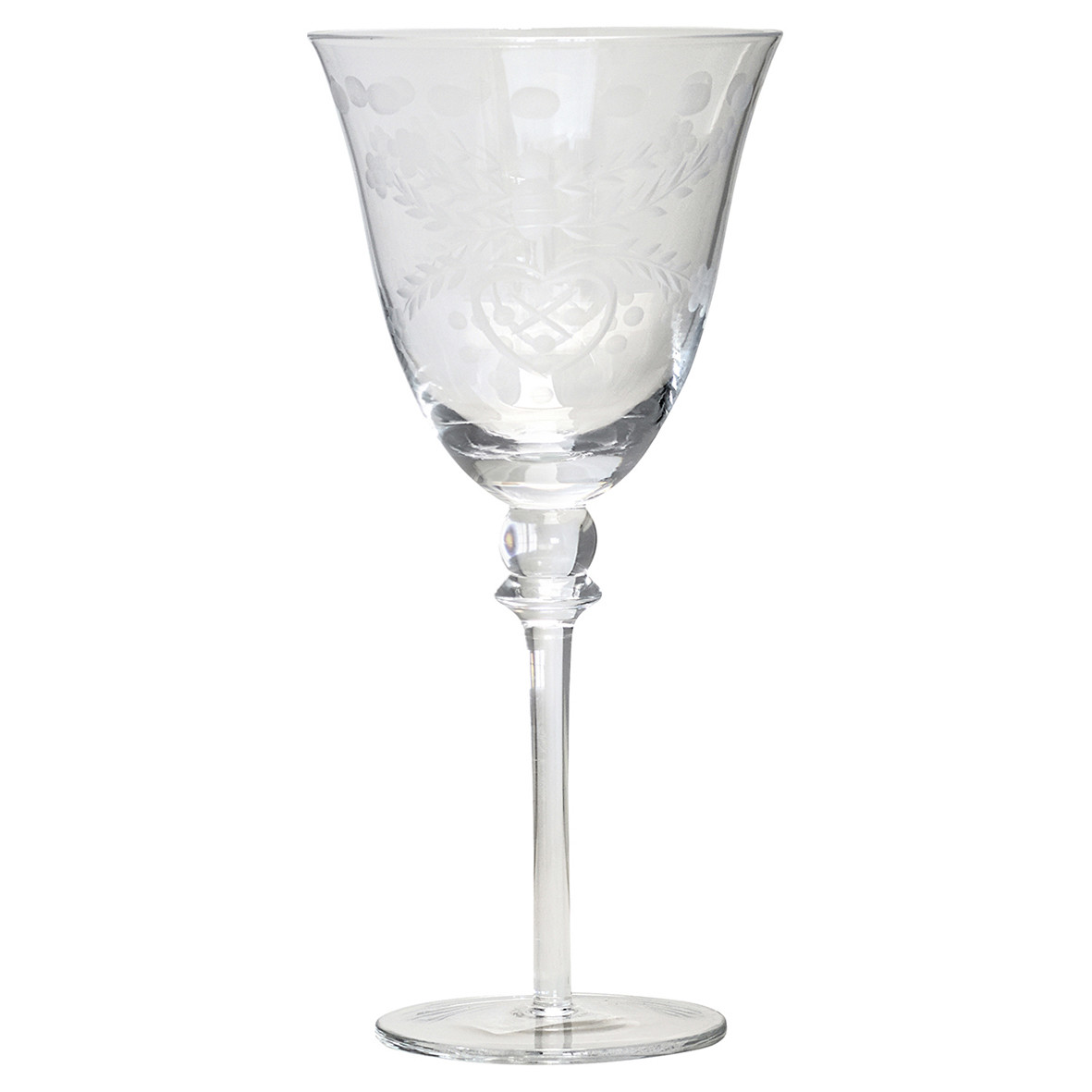 Weinglas - Greengate H 22cm