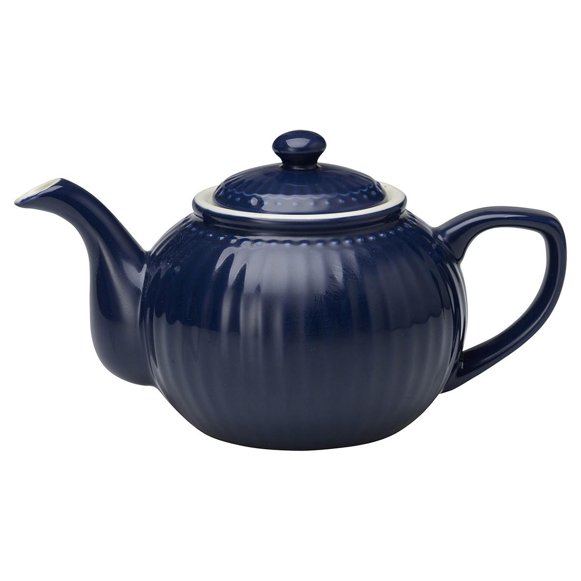 Greengate - Teekanne Alice blau h 14 cm