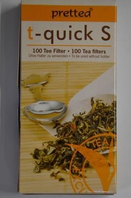 Tee-Papierfilter Tassengröße - 100 Stück pro Schachtel
