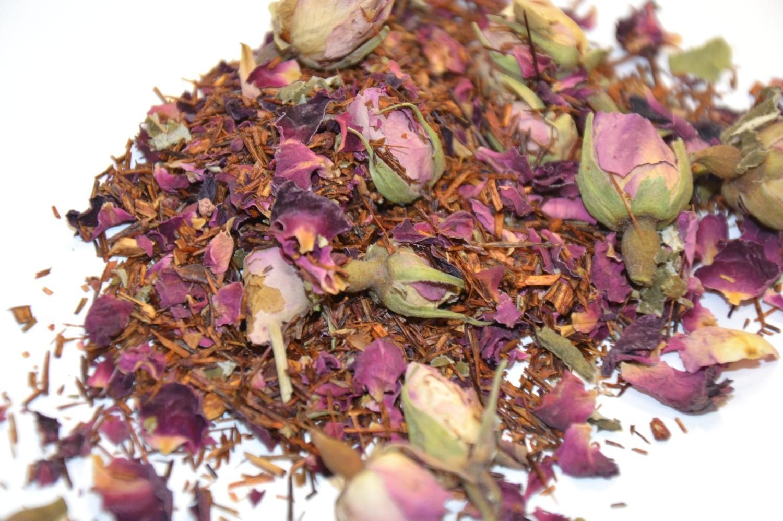 Rooibos Erdbeere & Rosen - natürlich BIO