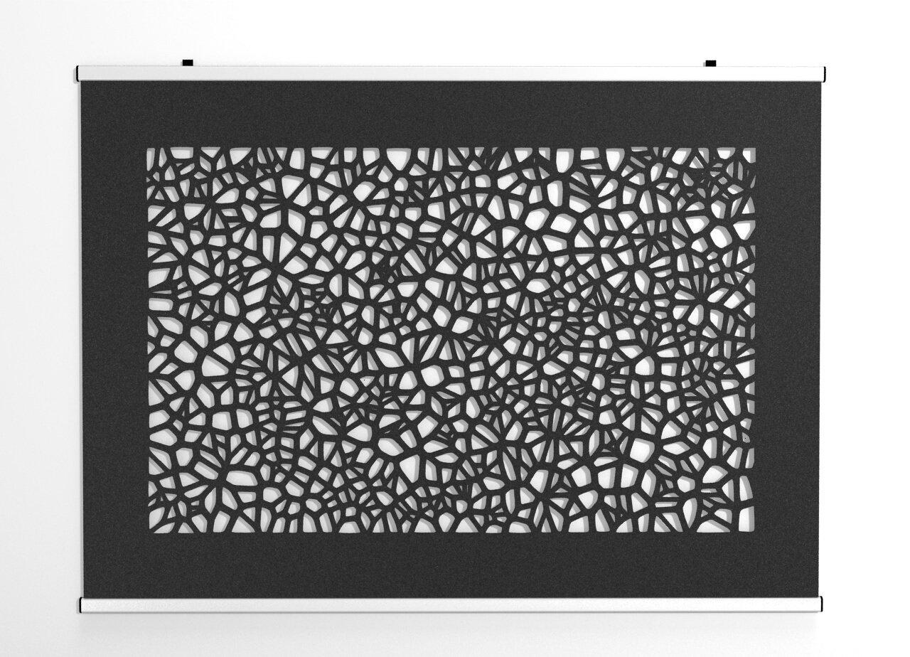 An der Wand - Modernes natürliches Voronoi Design