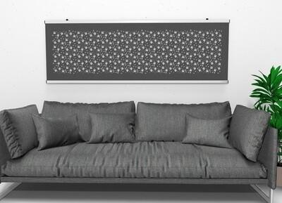 An der Wand - Alles quadratisch, alles symmetrisch
