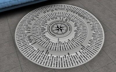 Dingolfing - der Teppich deiner Stadt an der Isar.  140 oder 200cm Durchmesser