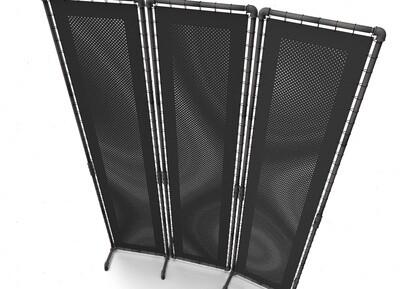 Der große Sichtschutz im Factory + Industrial Design, 116 x 198cm