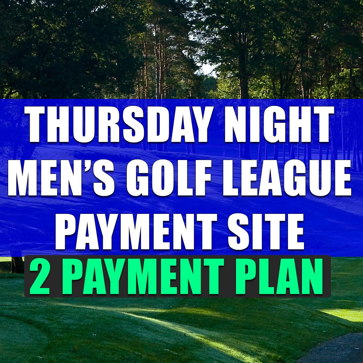 Thursday Night Men's League (Second Payment)