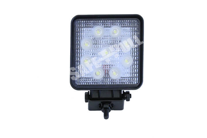 27w Square Auxiliary LED Flood Light