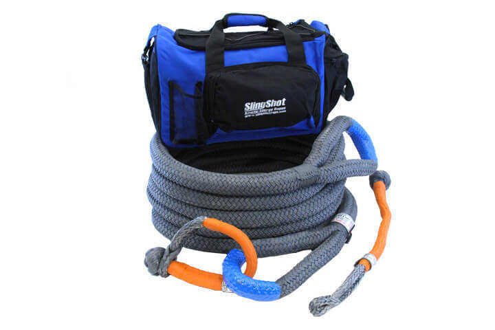 """1-1/2"""" x 30'  Kinetic Energy Rope - Recovery Kit"""