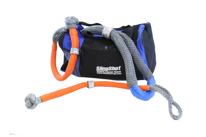 "1-1/4"" x 30' Kinetic Energy Rope - Recovery Kit"