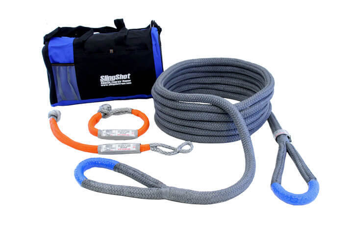 """7/8"""" x 20' Kinetic Energy Rope - Recovery Kit"""